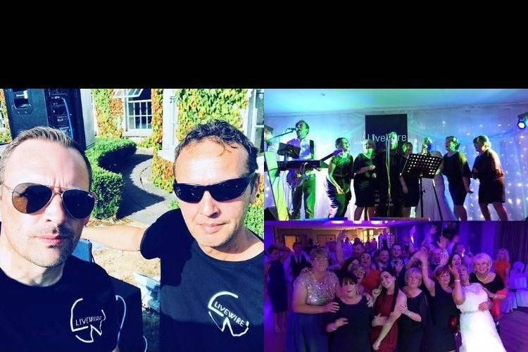 Music and DJs LIVEWIRE WEDDING BAND 1